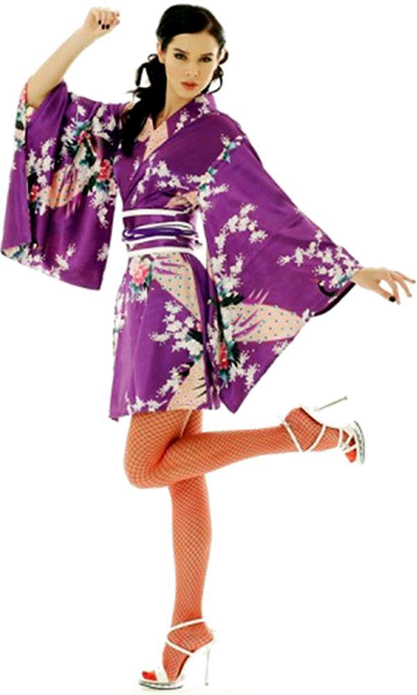 Royal Purple Kimono - Kimonos u0026 Yukatas - aFashion