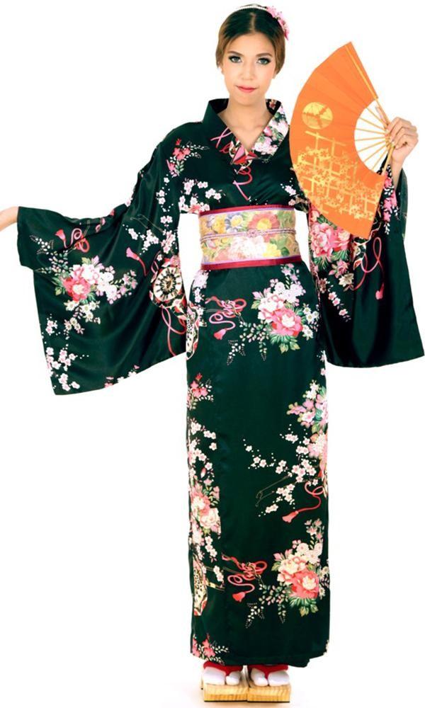 Elegant Japanese Kimono - Kimonos & Yukatas - aFashion
