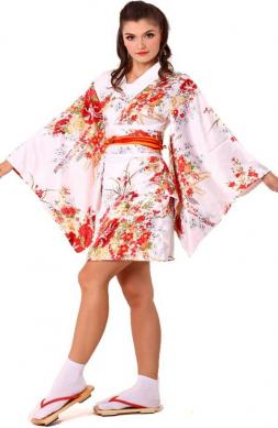Gorgeous White Yukata