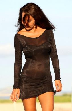 Magnificent Sheer Cover-Up Dress