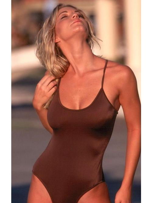 Refined Chocolate One Piece Swimsuit