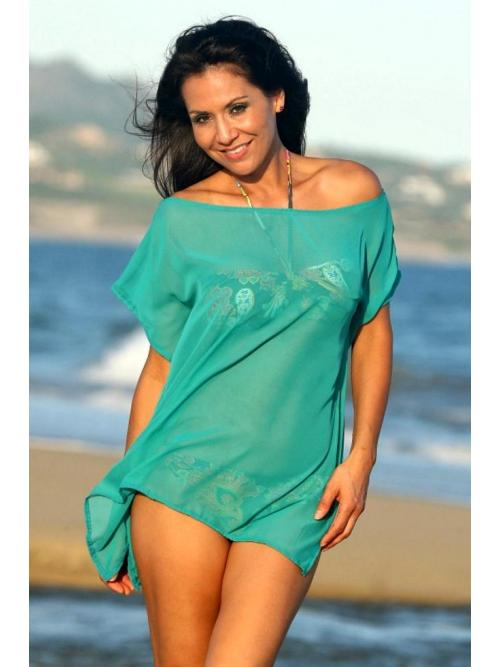 Looker Sheer Tunic - Beach & Swim Cover-ups - aFashion