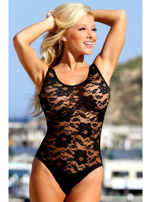 Sublime Sheer One Piece Swimsuit