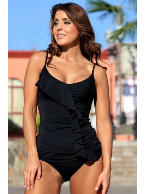 Enchanting Black Tankini