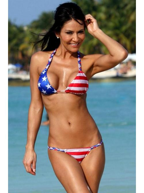 Sexy Stars and Stripes Bikini