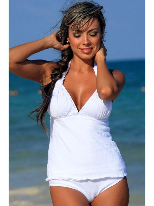 Sightly Gauze Tankini