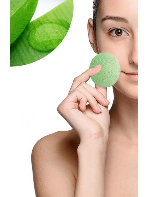 Konjac Cleansing Sponge With Aloe Vera
