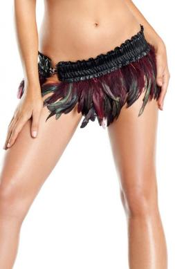Fly Exotic Feathers Skirt