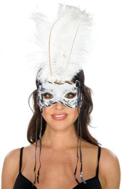 Beauteous Feather Mask