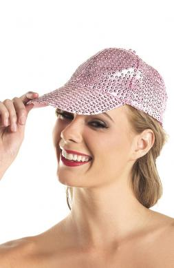 Sequin Baseball Hat Candy