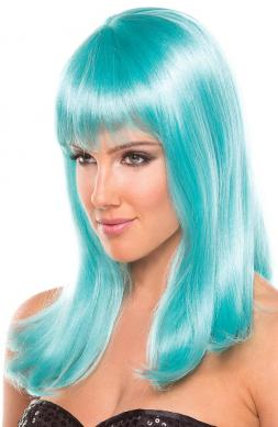 Hollywood Wig Light Blue