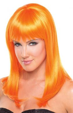 Hollywood Wig Orange