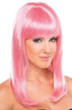 Hollywood Wig Pink