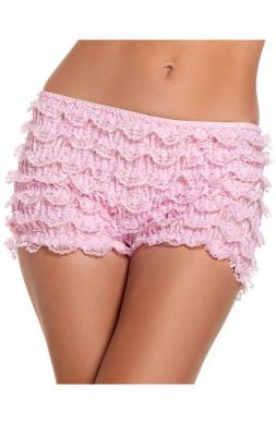 Sumptuous Ruffled Shorts