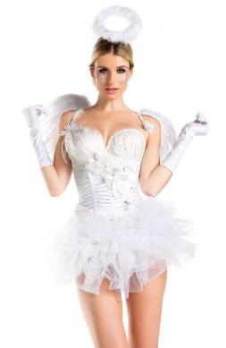 White Swan Angel Costume