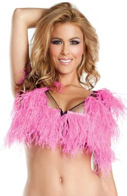 Upper Crust Ostrich Feather Top