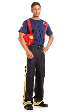 Fierce Firefighter Costume