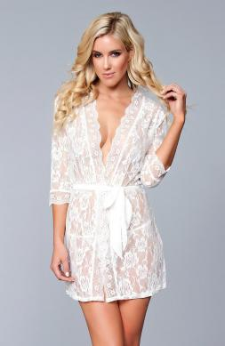 Transcendent Lola Over Lace Robe