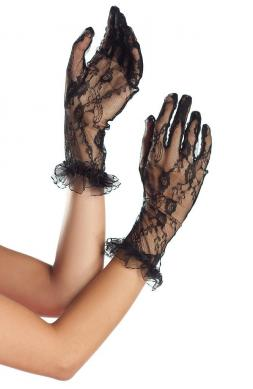Teasing Midarm length Lace Gloves