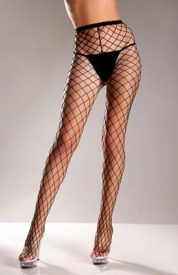 Trendsetting Fence net pantyhose Black