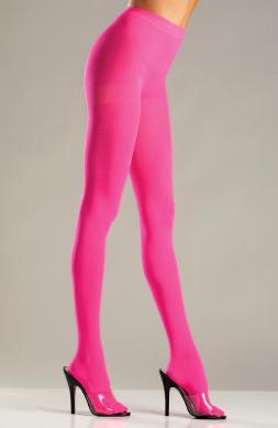 Trendy Hot Pink Opaque Nylon