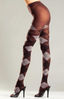 Brown and Grey Argyle