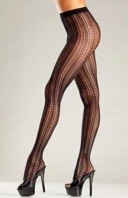 Vertical stripe fishnet