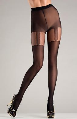 Modern Opaque black pantyhose