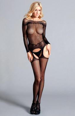 Long sleeved suspender