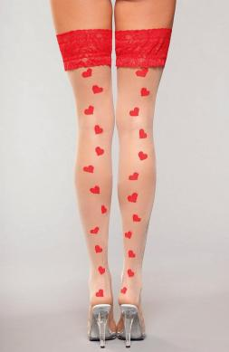 Sweetheart Thigh Highs