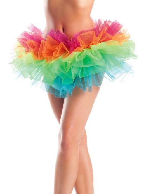 3 Layer rainbow petticoat