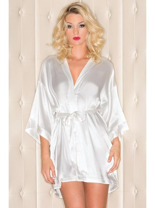 Refined Satin Robe