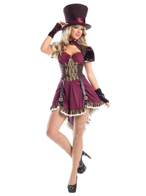 Steampunk Mad Hatter Costume