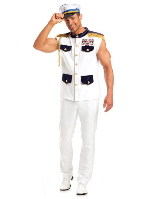 Scintillating Sea Captain Costume