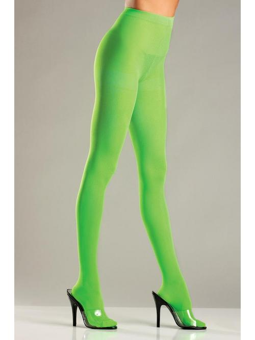 Splendid Lime Green Opaque Nylon