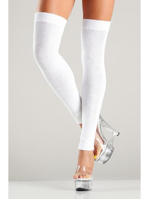 Thigh Highs White